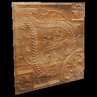N120 Cracked Wood Side View-Nova-decorative-ceiling-tiles-antique-decor