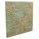 N130 Heavy Rusted Peeled Side View-Nova-decorative-ceiling-tiles-antique-decor
