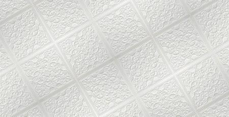 N122 Pearl White Banner Nova decorative ceiling-tiles-antique-decor